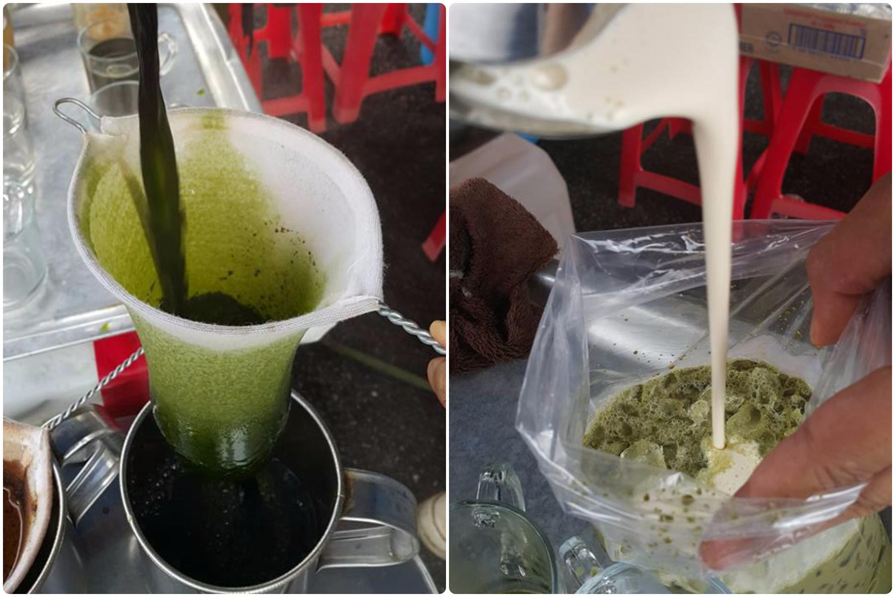绿茶加巧克力加奶泡的香浓滋味,让人一喝难忘。-M中文网摄-