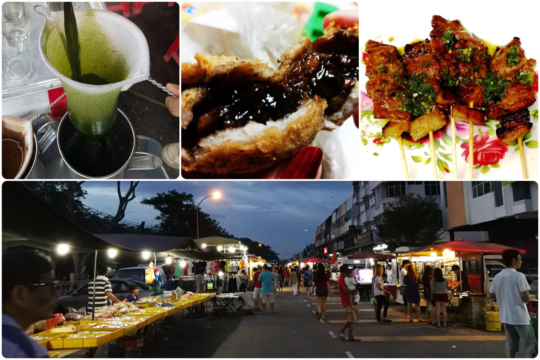 高渊夜市不仅是高渊居民才会来逛,还有周边城镇的居民也会来找美食呢。-M中文网制图-