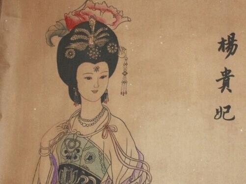 """杨贵妃:""""大家吃月饼时要想起我哟!""""——设计对白"""
